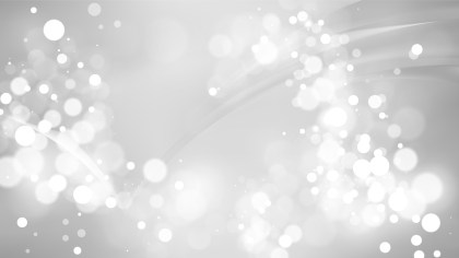 Abstract Grey Blurred Lights Background Image