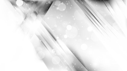 Abstract Grey and White Bokeh Lights Background Design
