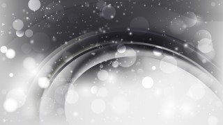 Abstract Grey and White Blurred Lights Background Design