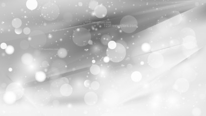 Abstract Grey and White Blur Lights Background Design