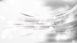 Abstract Grey and White Blurry Lights Background Design