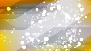Abstract Grey and Yellow Blurred Bokeh Background Design