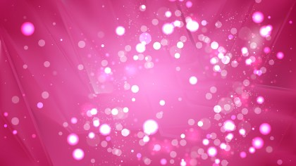Abstract Hot Pink Blur Lights Background