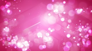 Abstract Hot Pink Bokeh Defocused Lights Background