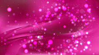 Abstract Hot Pink Lights Background