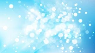 Abstract Light Blue Defocused Lights Background Vector