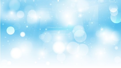 Abstract Light Blue Lights Background Vector