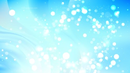 Abstract Light Blue Bokeh Background Image