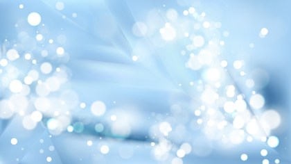 Abstract Light Blue Lights Background Image