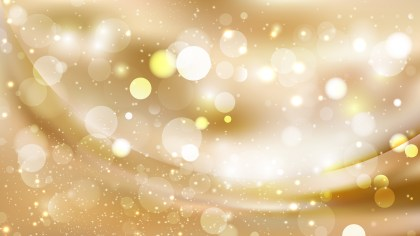Abstract Light Brown Bokeh Lights Background Image