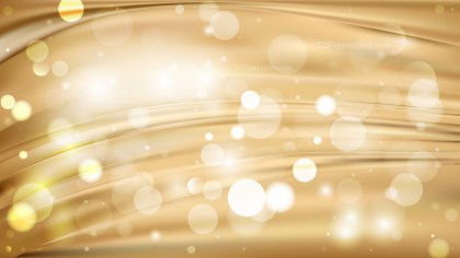 Abstract Light Brown Blurred Lights Background Design