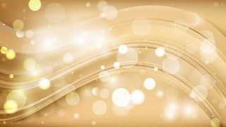 Abstract Light Brown Bokeh Background Design