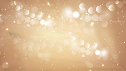 Abstract Light Brown Blurry Lights Background Design
