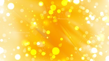 Abstract Light Orange Bokeh Background Design