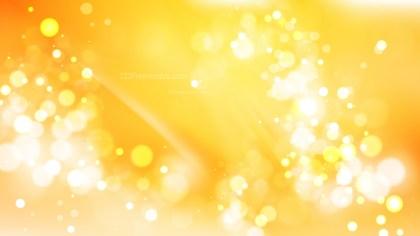 Abstract Light Orange Blurred Bokeh Background Design