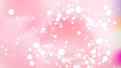 Abstract Light Pink Blurred Lights Background Design