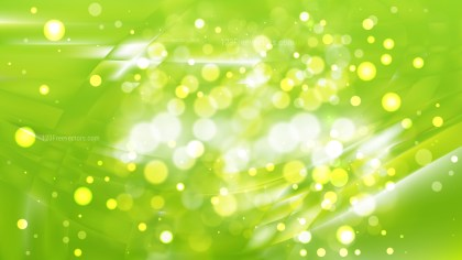 Abstract Lime Green Lights Background