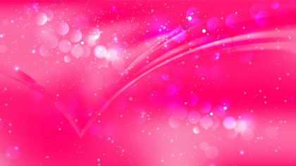 Abstract Magenta Blur Lights Background Vector