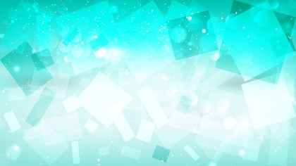 Abstract Mint Green Defocused Lights Background Vector