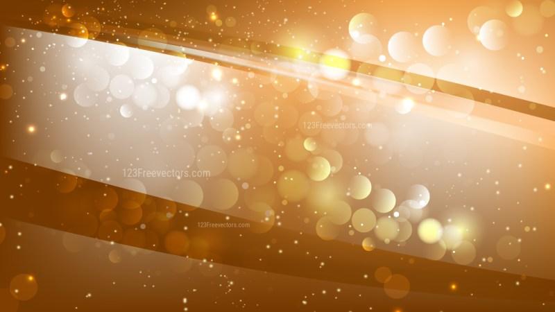 Abstract Orange Blur Lights Background Image