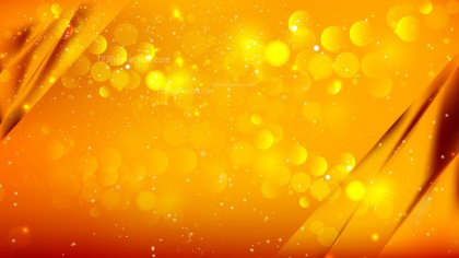 Abstract Orange Blurry Lights Background Image