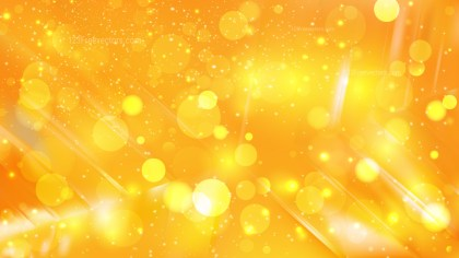Abstract Orange Blur Lights Background Design
