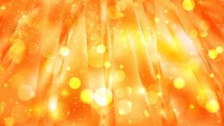 Abstract Orange Blurry Lights Background Design