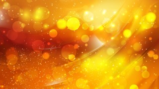 Abstract Orange Blurred Bokeh Background Design