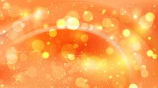 Abstract Orange Blurred Lights Background