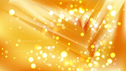 Abstract Orange Bokeh Lights Background Image