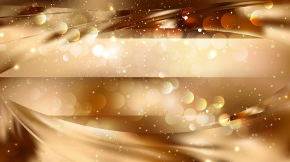 Abstract Orange Blurred Bokeh Background Image