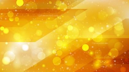 Abstract Orange Bokeh Defocused Lights Background Image