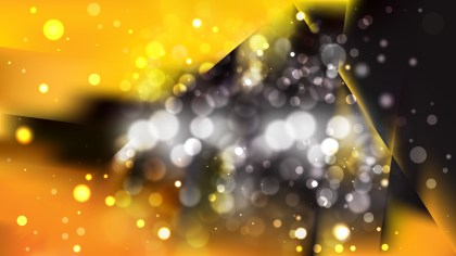 Abstract Orange and Black Bokeh Background Image
