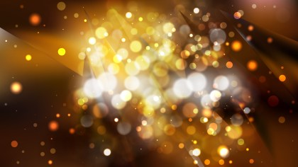 Abstract Orange and Black Blurred Lights Background Vector