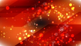 Abstract Orange and Black Blurred Lights Background Image