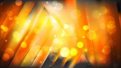 Abstract Orange and Black Blurry Lights Background Image