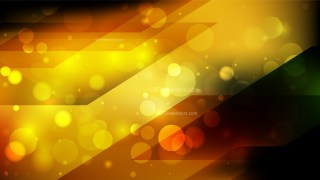Abstract Orange and Black Blurred Bokeh Background Image