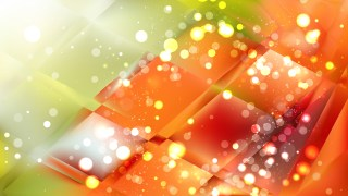Abstract Orange and Green Blurred Bokeh Background