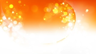 Abstract Orange and White Blurry Lights Background Image