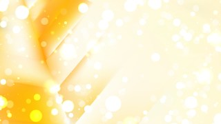 Abstract Orange and White Blurry Lights Background Design
