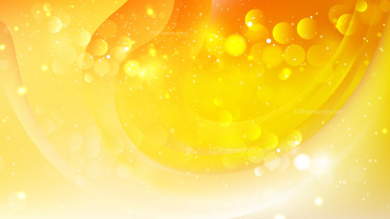 Abstract Orange and White Defocused Background Design