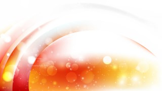 Abstract Orange and White Bokeh Defocused Lights Background Design