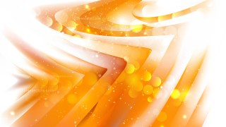 Abstract Orange and White Lights Background