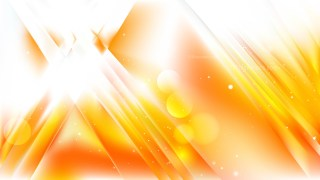 Abstract Orange and White Blurry Lights Background Vector