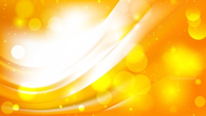 Abstract Orange and White Blurred Lights Background Image