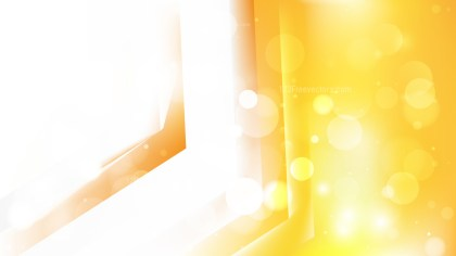 Abstract Orange and White Blurred Lights Background Design