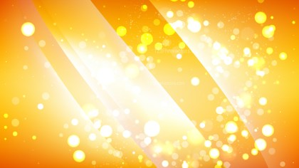 Abstract Orange and White Defocused Lights Background Design