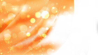 Abstract Orange and White Blur Lights Background Design