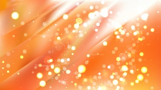 Abstract Orange and White Blur Lights Background