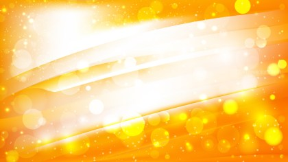 Abstract Orange and White Lights Background Image